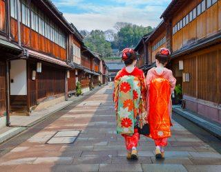 有機會參加京都全程馬拉松的話,何不順便當一下舞妓呢?