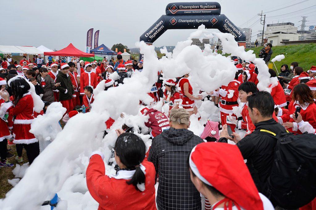 聖蹟サンタマラソン